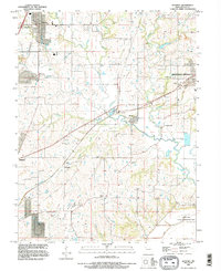Download a high-resolution, GPS-compatible USGS topo map for Kearney, MO (1996 edition)