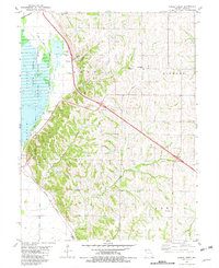 Download a high-resolution, GPS-compatible USGS topo map for Kimsey Creek, MO (1982 edition)