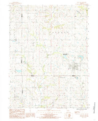 Download a high-resolution, GPS-compatible USGS topo map for King City, MO (1985 edition)