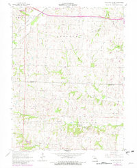 Download a high-resolution, GPS-compatible USGS topo map for Knob Noster NW, MO (1982 edition)