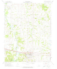 Download a high-resolution, GPS-compatible USGS topo map for Knob Noster, MO (1974 edition)