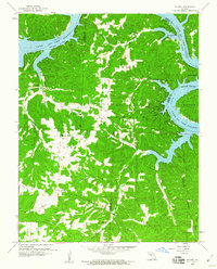 Download a high-resolution, GPS-compatible USGS topo map for Knobby, MO (1960 edition)