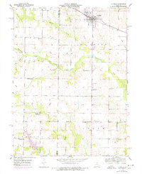 Download a high-resolution, GPS-compatible USGS topo map for La Belle, MO (1977 edition)