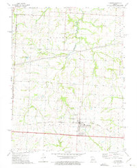 Download a high-resolution, GPS-compatible USGS topo map for La Monte, MO (1975 edition)