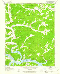 Download a high-resolution, GPS-compatible USGS topo map for Lakeview Heights, MO (1960 edition)