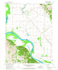 Download a high-resolution, GPS-compatible USGS topo map for Langdon, MO (1968 edition)