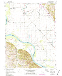 Download a high-resolution, GPS-compatible USGS topo map for Langdon, MO (1984 edition)