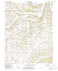 Download a high-resolution, GPS-compatible USGS topo map for Latham, MO (1986 edition)