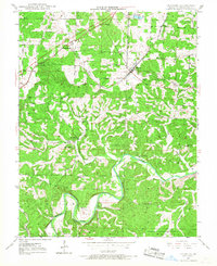 Download a high-resolution, GPS-compatible USGS topo map for Leasburg, MO (1968 edition)