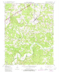 Download a high-resolution, GPS-compatible USGS topo map for Leasburg, MO (1980 edition)