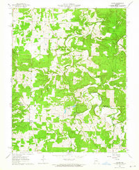 Download a high-resolution, GPS-compatible USGS topo map for Lecoma, MO (1964 edition)
