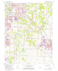 Download a high-resolution, GPS-compatible USGS topo map for Lees Summit, MO (1975 edition)