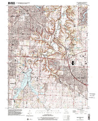 Download a high-resolution, GPS-compatible USGS topo map for Lees Summit, MO (2002 edition)
