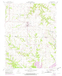 Download a high-resolution, GPS-compatible USGS topo map for Leeton, MO (1982 edition)