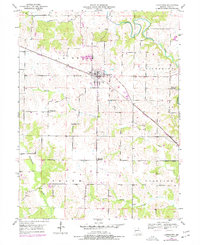 Download a high-resolution, GPS-compatible USGS topo map for Lewistown, MO (1977 edition)