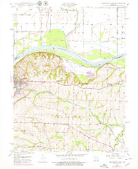 Download a high-resolution, GPS-compatible USGS topo map for Lexington East, MO (1978 edition)