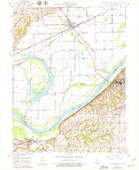 Download a high-resolution, GPS-compatible USGS topo map for Lexington West, MO (1979 edition)