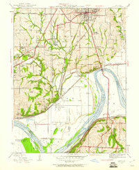 Download a high-resolution, GPS-compatible USGS topo map for Liberty, MO (1960 edition)
