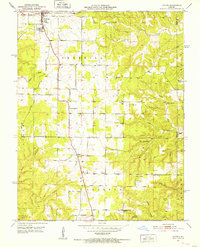 Download a high-resolution, GPS-compatible USGS topo map for Licking, MO (1952 edition)