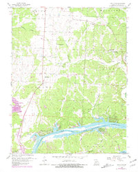 Download a high-resolution, GPS-compatible USGS topo map for Lincoln SE, MO (1981 edition)