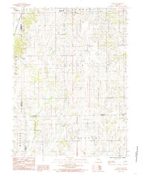 Download a high-resolution, GPS-compatible USGS topo map for Lindley, MO (1985 edition)