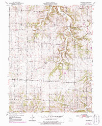 Download a high-resolution, GPS-compatible USGS topo map for Lone Elm, MO (1986 edition)