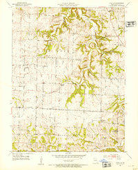 Download a high-resolution, GPS-compatible USGS topo map for Lone Elm, MO (1954 edition)