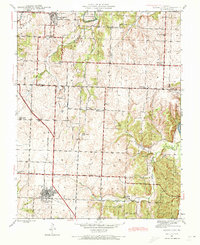 Download a high-resolution, GPS-compatible USGS topo map for Lowry City, MO (1973 edition)