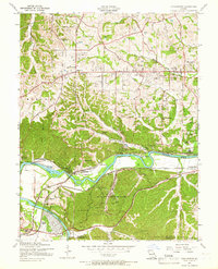Download a high-resolution, GPS-compatible USGS topo map for Manchester, MO (1966 edition)