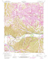 Download a high-resolution, GPS-compatible USGS topo map for Manchester, MO (1982 edition)