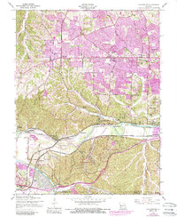 Download a high-resolution, GPS-compatible USGS topo map for Manchester, MO (1988 edition)