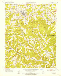 Download a high-resolution, GPS-compatible USGS topo map for Mansfield, MO (1953 edition)
