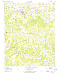 Download a high-resolution, GPS-compatible USGS topo map for Mansfield, MO (1977 edition)