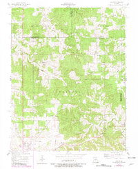 Download a high-resolution, GPS-compatible USGS topo map for Maples, MO (1980 edition)