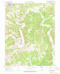 Download a high-resolution, GPS-compatible USGS topo map for Maramec Spring, MO (1971 edition)