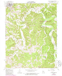 Download a high-resolution, GPS-compatible USGS topo map for Maramec Spring, MO (1985 edition)