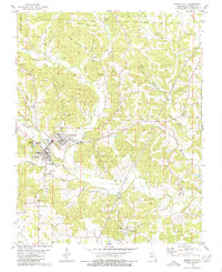 Download a high-resolution, GPS-compatible USGS topo map for Marble Hill, MO (1980 edition)