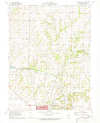 Download a high-resolution, GPS-compatible USGS topo map for Marshall North, MO (1973 edition)