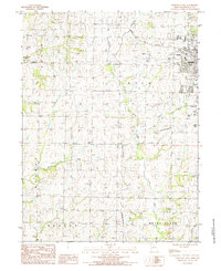 Download a high-resolution, GPS-compatible USGS topo map for Maryville West, MO (1985 edition)