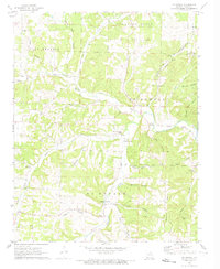 Download a high-resolution, GPS-compatible USGS topo map for McDowell, MO (1973 edition)