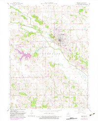 Download a high-resolution, GPS-compatible USGS topo map for Memphis, MO (1983 edition)