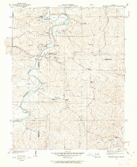 Download a high-resolution, GPS-compatible USGS topo map for Meramec State Park, MO (1962 edition)