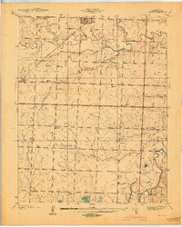 Download a high-resolution, GPS-compatible USGS topo map for Metz, MO (1939 edition)