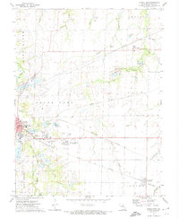 Download a high-resolution, GPS-compatible USGS topo map for Mexico East, MO (1974 edition)
