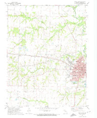 Download a high-resolution, GPS-compatible USGS topo map for Mexico West, MO (1974 edition)