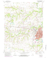 Download a high-resolution, GPS-compatible USGS topo map for Mexico West, MO (1985 edition)
