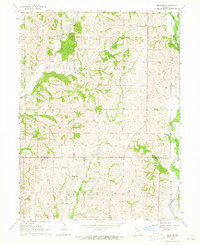 Download a high-resolution, GPS-compatible USGS topo map for Milan SE, MO (1965 edition)