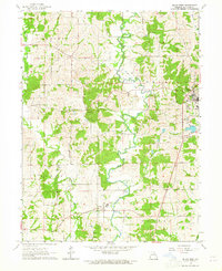 Download a high-resolution, GPS-compatible USGS topo map for Milan West, MO (1965 edition)