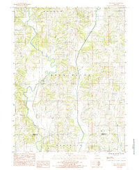Download a high-resolution, GPS-compatible USGS topo map for Mill Grove, MO (1985 edition)