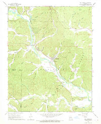 Download a high-resolution, GPS-compatible USGS topo map for Mill Spring, MO (1969 edition)